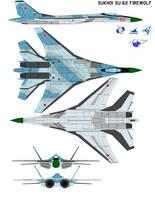 Sukhoi SU-62 firewolf by bagera3005