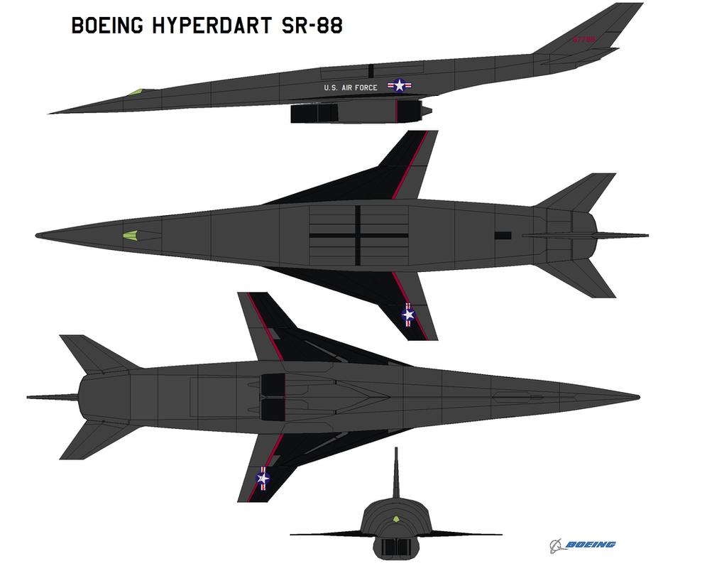 Boeing Hyperdart SR-88 by bagera3005