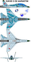 Sukhoi S-56 Marmotini by bagera3005