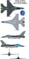 General Dynamics F-16 Fighting Falcon 309th viper