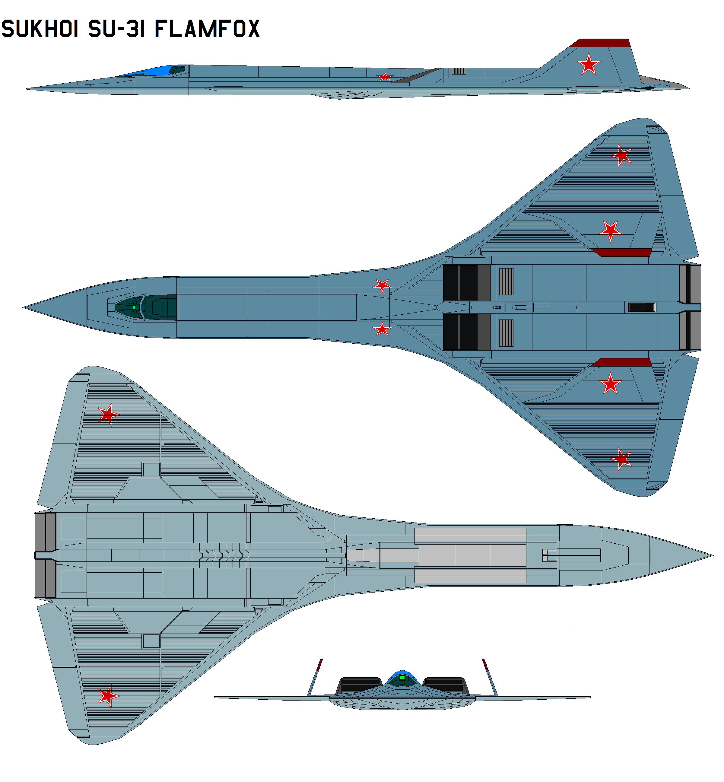 Sukhoi Su-31 Flamfox By Bagera3005 On DeviantArt