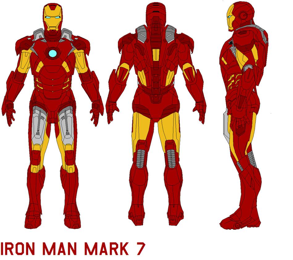 ironman mark 7 armor by bagera3005 on DeviantArt