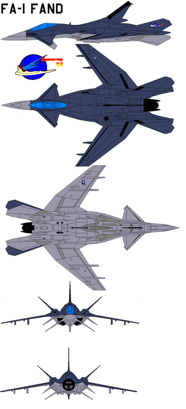 FA-1 Fand Yukikaze by bagera3005
