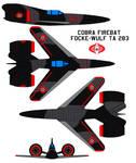 Cobra Firebat ww2 Focke-Wulf Ta 283