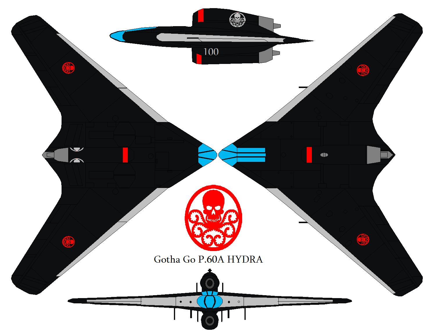 Gotha Go P.60A HYDRA by bagera3005