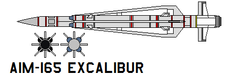 aim-165 Excalibur by bagera3005
