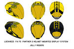 Panther 2 Helmet Mounted Display Jolly Rogers