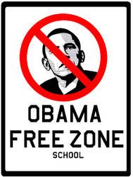 obama free zone by bagera3005