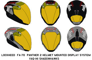Lockheed Helmet Mounted Display vaq-141 shadowhaks by bagera3005