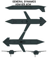 General Dynamics AGM-129 ACM by bagera3005