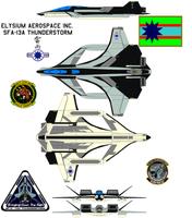 Elysium Aerospace Inc. SFA-13A Thunderstorm by bagera3005