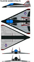 Teledyne Manned Stealth Tr-2 by bagera3005