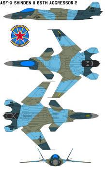 ASF-X Shinden II 65th Aggressor Squadron 2