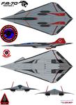 Lockheed  fa-70  Panther 2 VFA-102