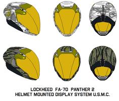Lockheed  Helmet Mounted Display USMC by bagera3005