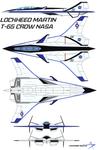 Lockheed Martin T-65 Crow NASA