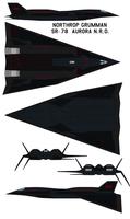 Northrop Grumman  sr-78  Aurora NR0