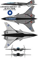 Lockheed Martin F-65 black crow  ROCAF by bagera3005