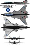 Lockheed Martin F-65 black crow  ROCAF