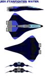 JEDI starfighter water
