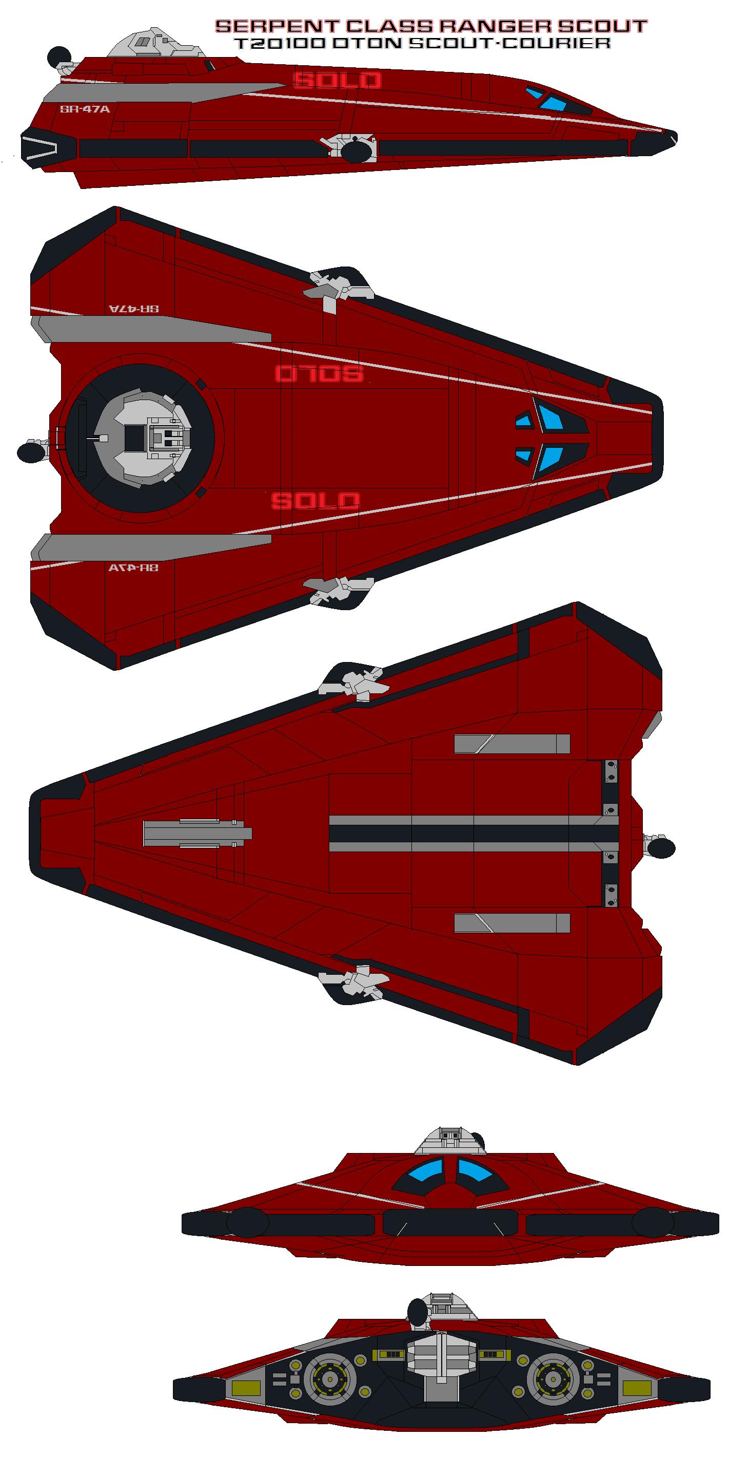 Serpent Class Ranger T20 100 dton Scout-Courier