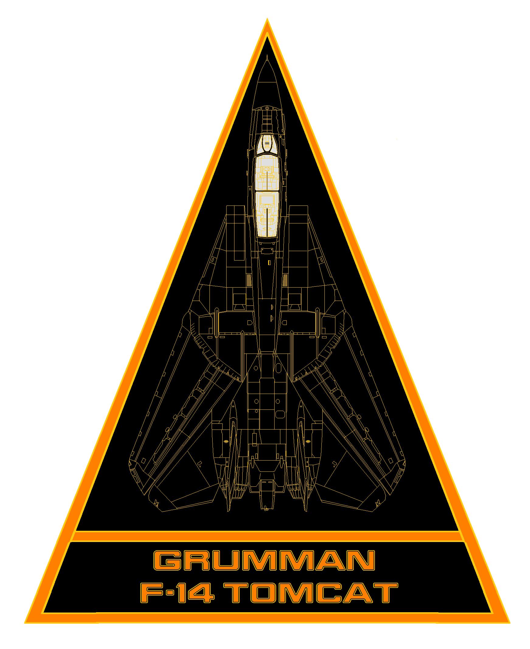 Grumman F-14 Tomcat patch by bagera3005