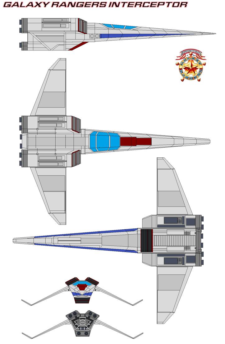 Galaxy Rangers Interceptor  Ranger-2 by bagera3005