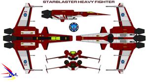 Starblaster Heavy Fighter USS Atlantis
