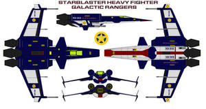 Starblaster Heavy Fighter  Galactic Rangers