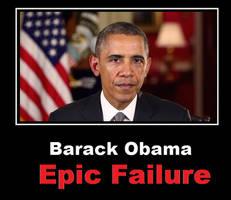 Barack Obama Epic Failure