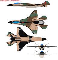 Lockheed  FA-90 sabercat by bagera3005