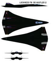 Lockheed FB-90 Hustler 2 prototype 1 by bagera3005