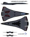 Lockheed FB-90 Hustler 2 prototype 3