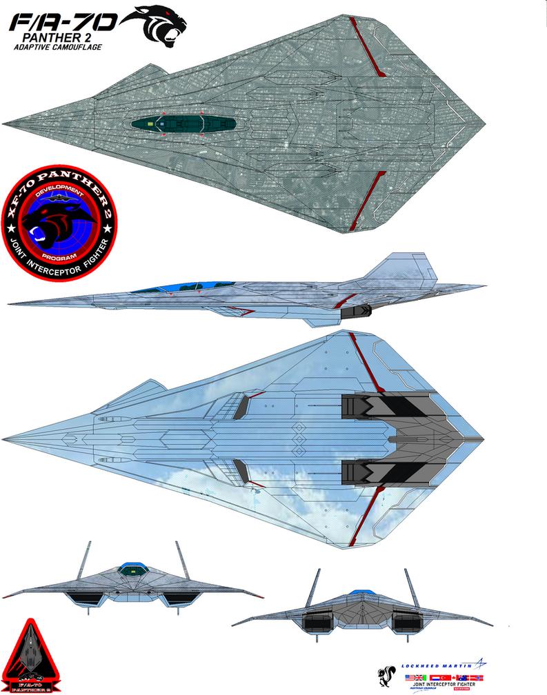 Lockheed  fa-70  Panther 2  Adaptive Camouflag by bagera3005