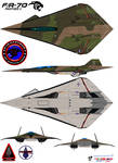 Lockheed  fa-70  Panther 2  robin olds