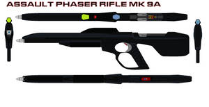 Assault Phaser rifle mk 9A by bagera3005