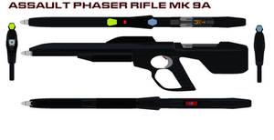 Assault Phaser rifle mk 9A
