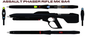 Assault Phaser rifle mk 9A4 by bagera3005