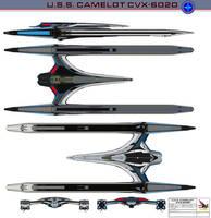 U.S.S. Camelot CVX-6020 by bagera3005