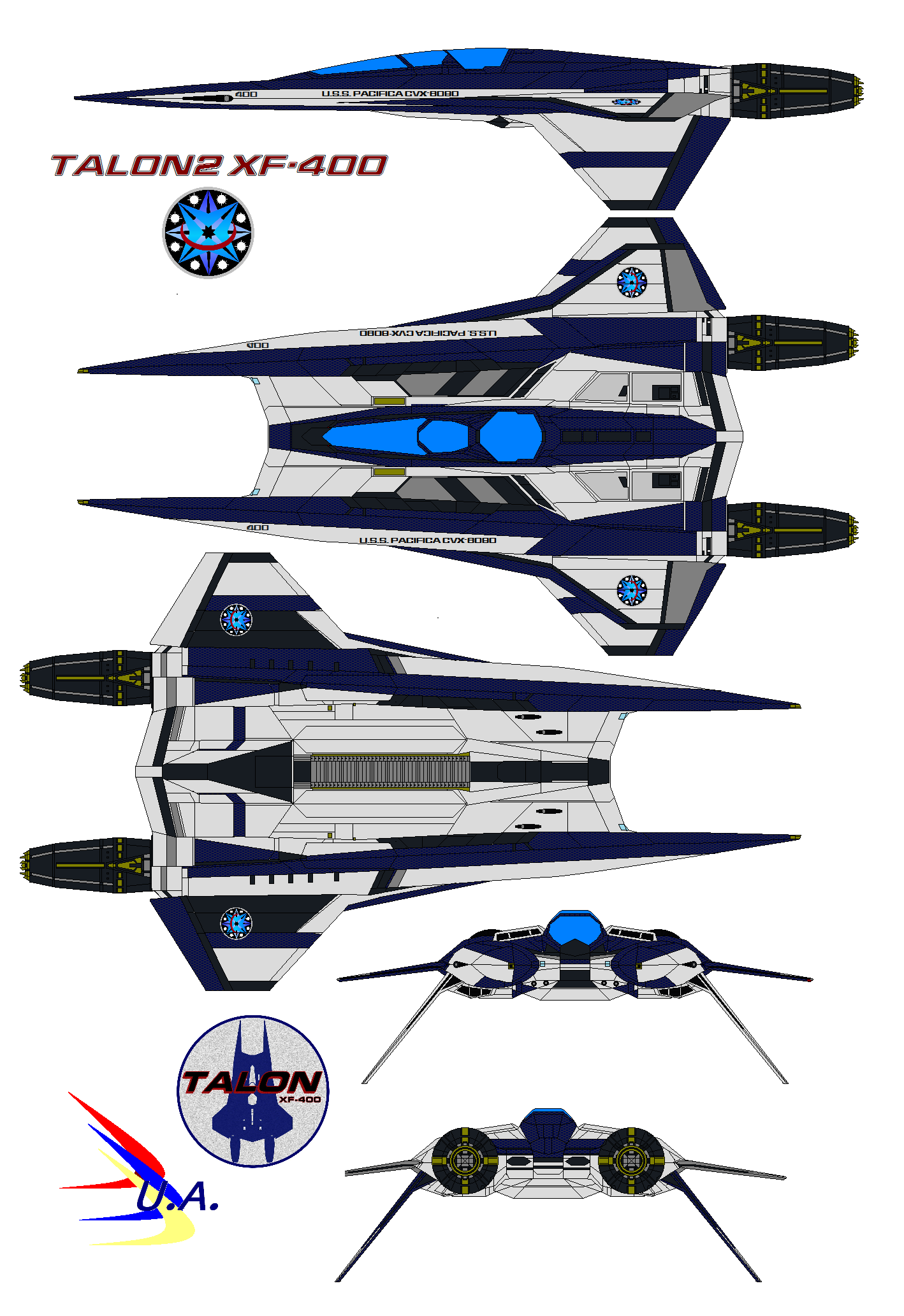Talon2 Xf 400 U S S Pacifica By Bagera3005 On Deviantart