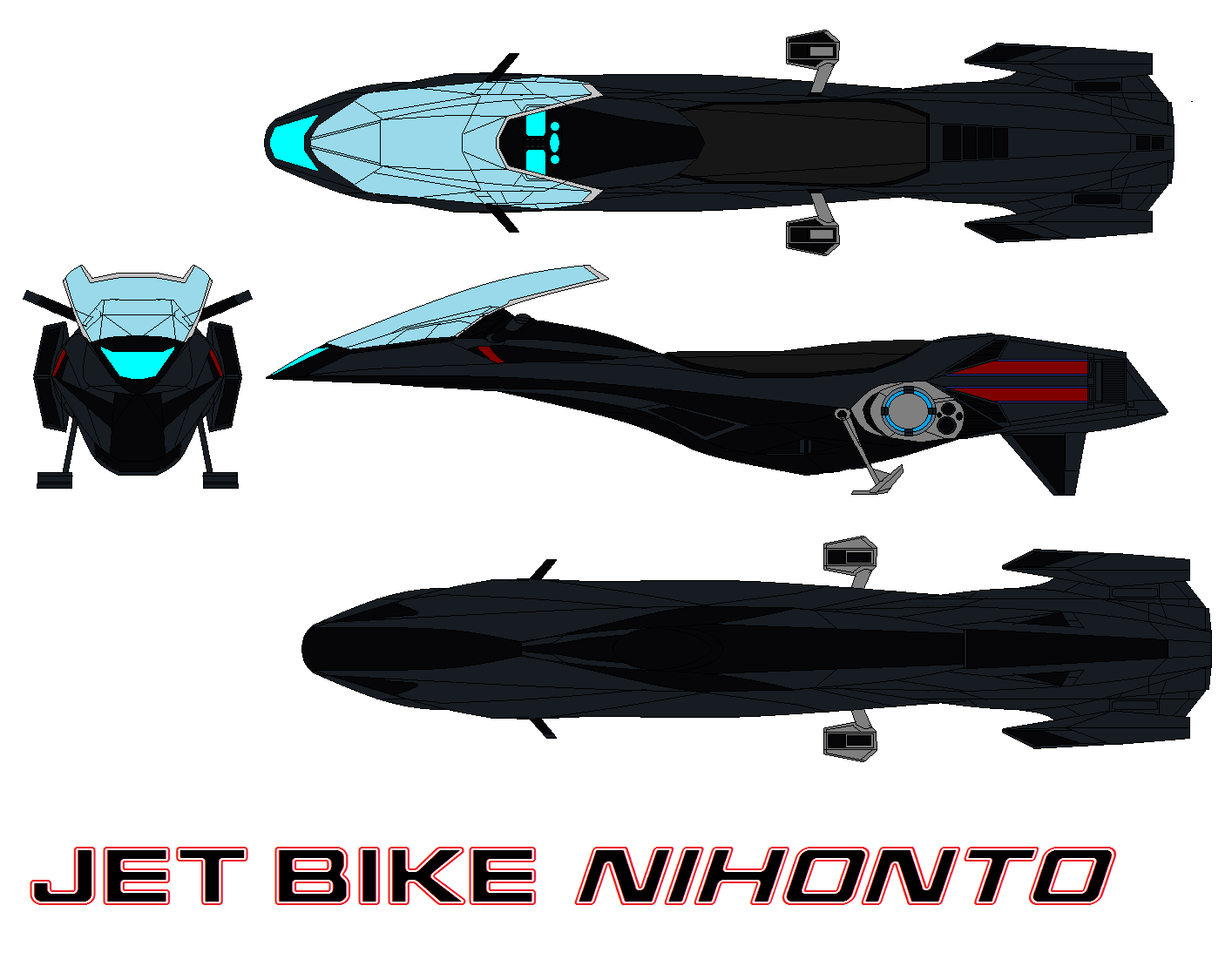 Jet Bike Nihonto by bagera3005
