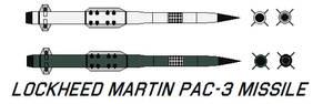 Lockheed Martin PAC-3 Missile