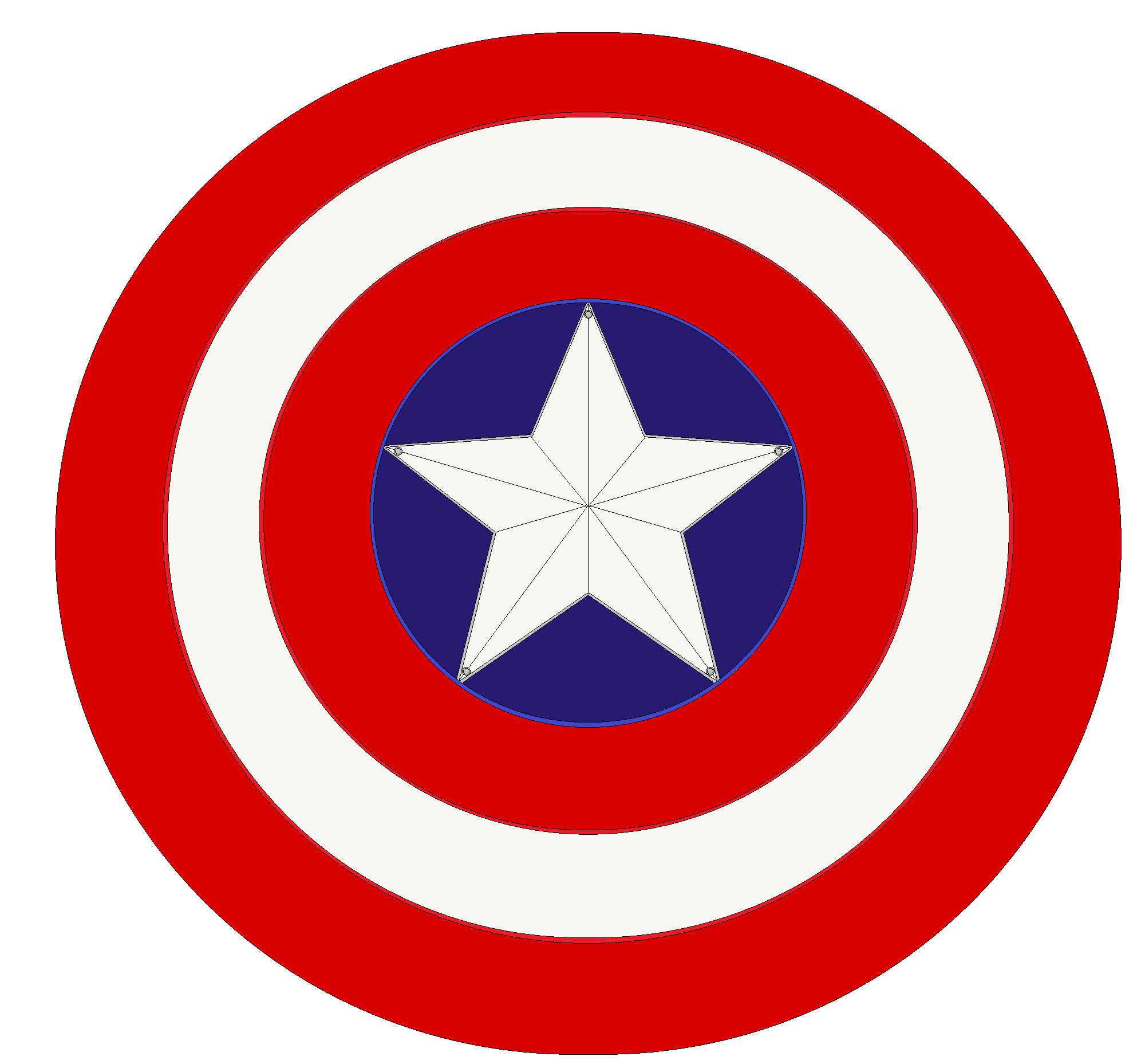Captain America Shield By Bagera3005 On DeviantArt