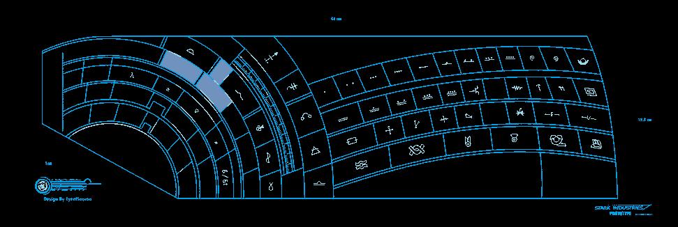 Stark Industries keyboard blueprints by bagera3005Stark Industries Png