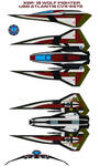 XSR-19 wolf fighter USS Atlantis CVX-4575