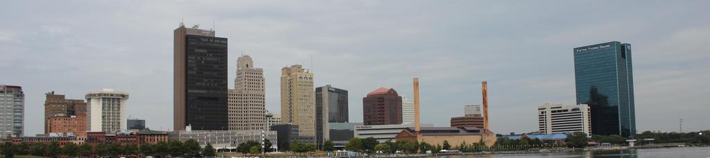 Toledo Ohio cityscape by bagera3005