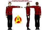 Starfleet uniform (late 2270s-2350s) Officers