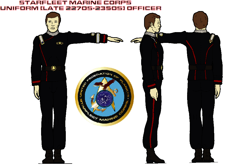 STARFLEET Marine Corps uniform (late 2270s-2350s) by ...
