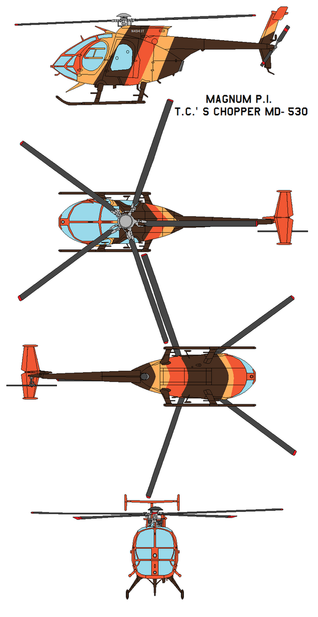 md helicopters 500 with Magnum P I T C S Chopper Md 530 501118622 on File notar helicopter further Top  E7 9B B4 E5 8D 87 E9 A3 9E E6 9C BA E6 A8 A1 E5 9E 8B E4 B8 89 E8 A7 86 E5 9B BE likewise File Hughes500 g Gspg arp moreover Avh6 furthermore Philippine Air Force To Receive Aw 109e Helicopters By End Of 2015.