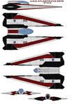 U.S.S. Atlantis CVX-4575 Eta-4